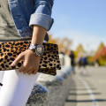 white_jeans_denim_jacket_leopard_clutch_technomarine_watch_samcora