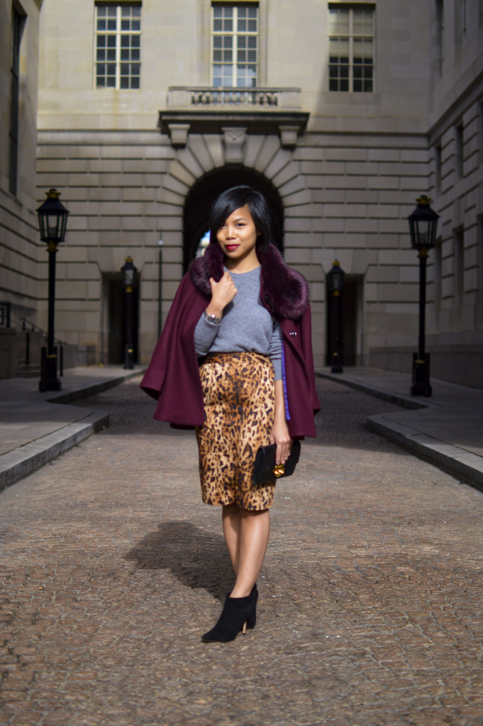 How To Wear Leopard Print Skirt Samcora A Fashion