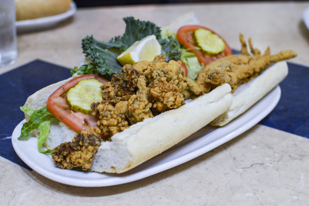Top 10 Best Restaurants New Orleans - Deanie's Seafood Oyster Poboy Soft Shell crab Poboy | SamCora Blog