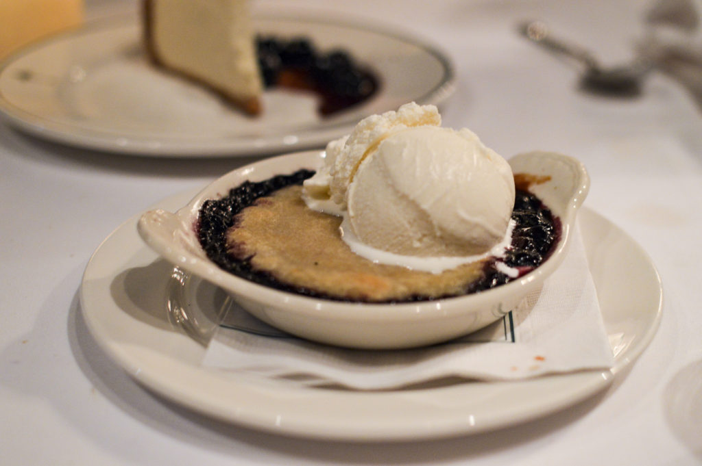 Top 10 Best Restaurants New Orleans - Galatoire's 33 Restaurant, Blueberry cobbler | SamCora Blog