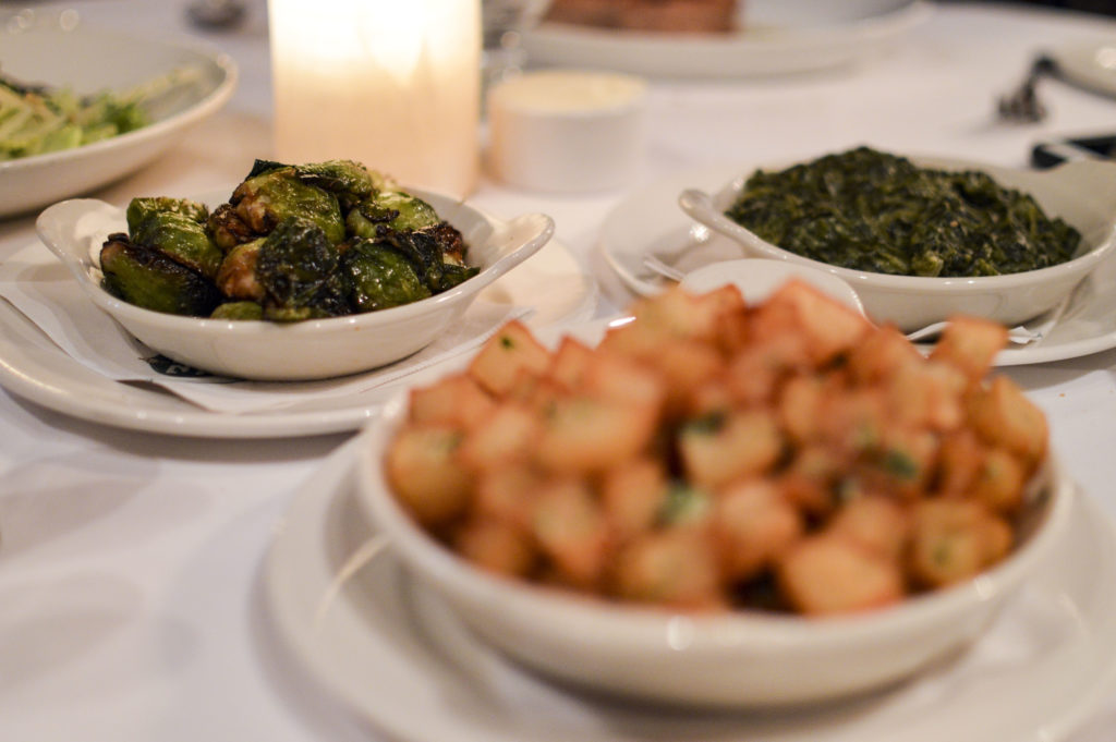Top 10 Best Restaurants New Orleans - Galatoire's 33 Restaurant, Brussel sprouts, creamed spinach | SamCora Blog