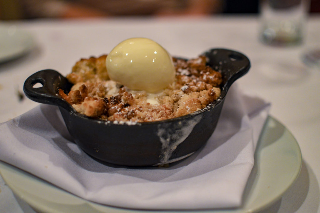 Top 10 Best Restaurants New Orleans - Lüke Restaurant, Apple and Cherry cobbler | SamCora Blog