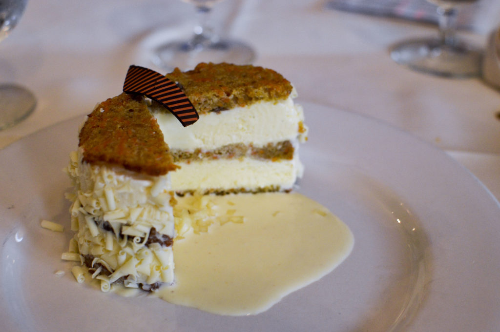 Top 10 Best Restaurants New Orleans - Muriel's Restaurant, Carrot Cake ice cream sandwich | SamCora Blog