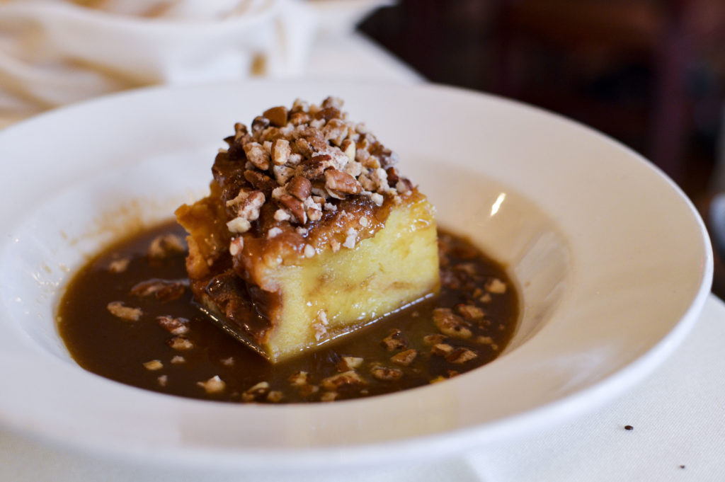Top 10 Best Restaurants New Orleans - Muriel's Restaurant, Pain Perdu Bread pudding | SamCora Blog