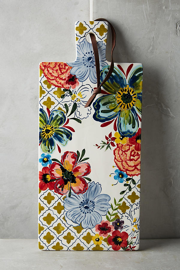 Stocking stuffers - Anthropologie Cheese board | SamCora Blog
