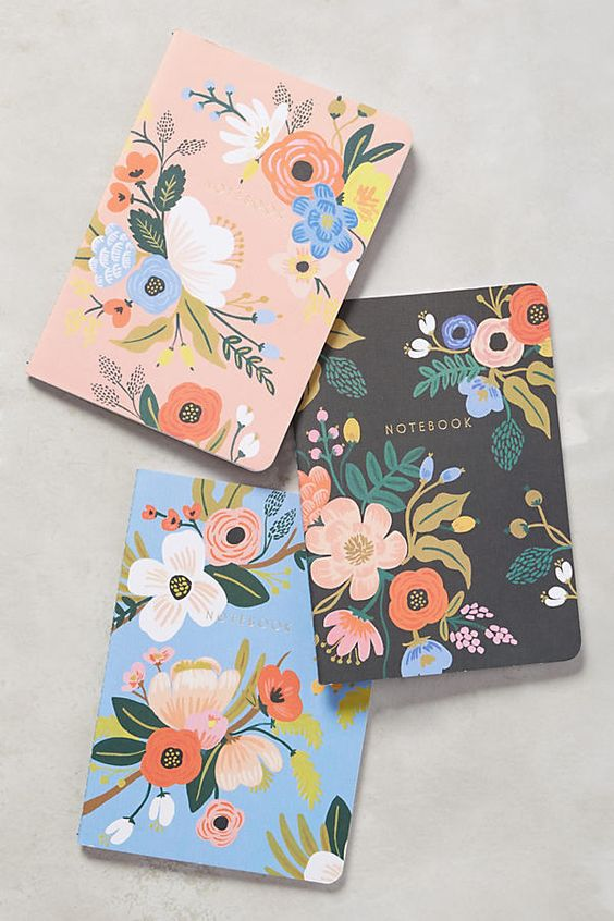 Stocking stuffers - Anthropologie notebooks | SamCora Blog
