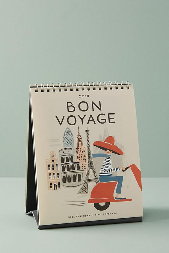 Stocking stuffers - Bon Voyage calendar | SamCora Blog
