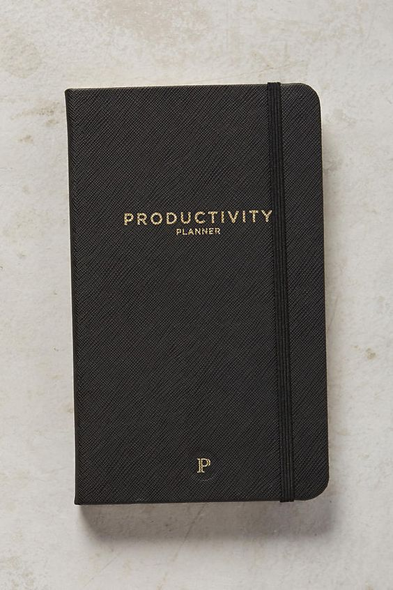 Stocking stuffers - Productivity planner | SamCora Blog
